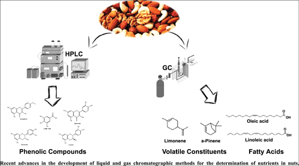 Advances in the Chromatographic Separation and Determination of Bioactive Compounds for Assessing the Nutrient Profile of Nuts