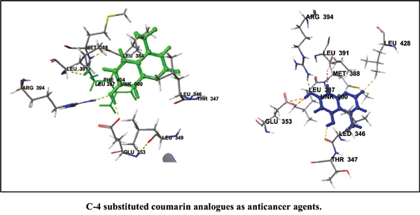 Synthesis and <i>In Silico</i> Studies of C-4 Substituted Coumarin Analogues as Anticancer Agents