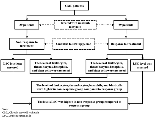 The Association Between the Level of Leukemic Stem Cells and Treatment Response Among Chronic Myeloid Leukemia Patients Treated with Imatinib Mesylate