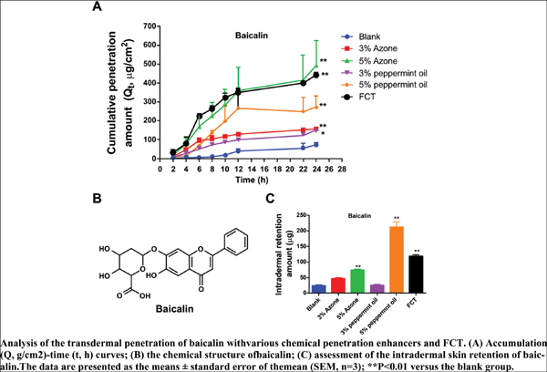 Comparative Evaluation of the Transdermal Permeation Effectiveness of Fu's Cupping Therapy on Eight Different Types of Model Drugs