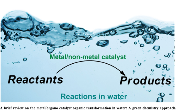 Significant Organic Transformations Using Catalysts in Water: A Greener Way to Combat Environmental Hazards