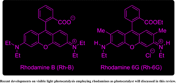 Rhodamines as Photocatalyst in Organic Synthesis