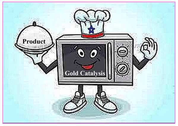Microwave-assisted Homogeneous Gold Catalyzed Organic Transformations