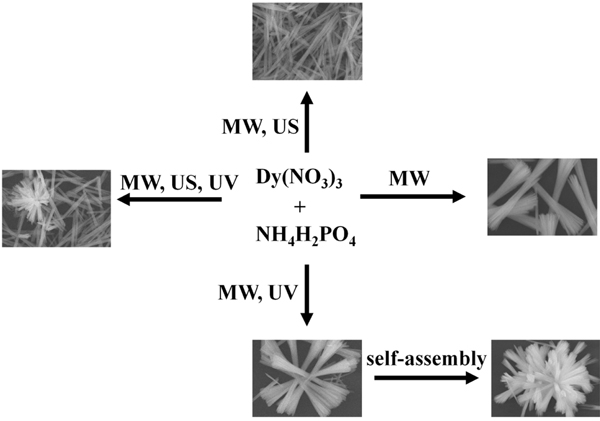 DyPO4·1.5H2O Microcrystals: Microwave/Ultrasound/ Ultraviolet Light- Assisted Synthesis, Characterization and Formation Mechanism