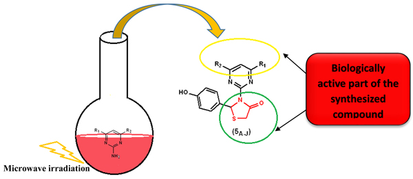 Significance of Microwave Irradiation in Synthesis of Thiazolidin-4-one Bearing Pyrimidine Analogues: Their <i>in vitro</i> Antimicrobial, Antituberculosis and Antimalarial Studies