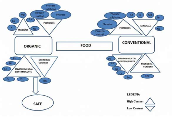 a comparison of organic food and conventional food The norwegian food safety authority (nfsa) requested an assessment of current knowledge regarding conventional and organic food production and a review of scientific literature that compare these two food production systems in order to provide support in their management of food safety.