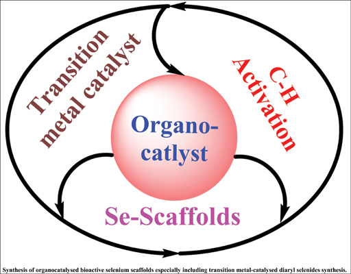 Organocatalysed Synthesis of Selenium Containing Scaffolds