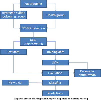 Diagnosis Model of Hydrogen Sulfide Poisoning Based on Support Vector Machine