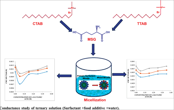 Micellization Behaviour of Cationic Surfactants in the Presence of Food Additives: Conductance and Spectroscopic Investigations