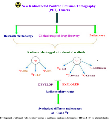 An Exposition of <sup>11</sup>C and <sup>18</sup>F Radiotracers Synthesis for PET Imaging