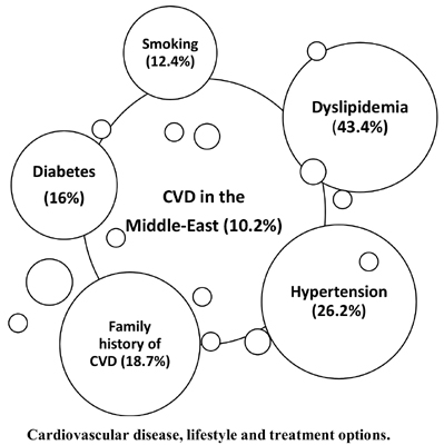 The Burden of Cardiovascular Disease Risk Factors in the Middle East: A Systematic Review and Meta-Analysis Focusing on Primary Prevention