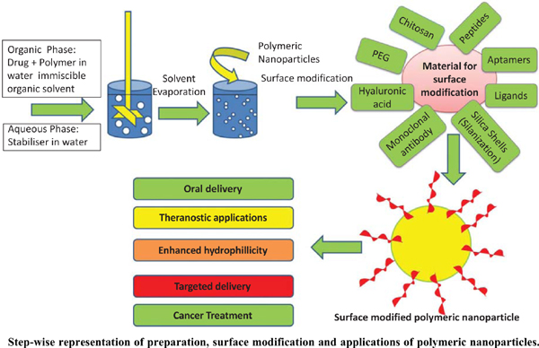 Preparation and Surface Modification of Polymeric Nanoparticles for Drug Delivery: State of the Art