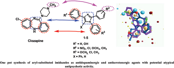 One Pot Synthesis and Pharmacological Evaluation of Aryl Substituted Imidazoles as Potential Atypical Antipsychotics