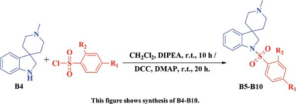 1'-methylspiro[indoline-3,4'-piperidine] Derivatives: Design, Synthesis, Molecular Docking and Anti-tumor Activity Studies