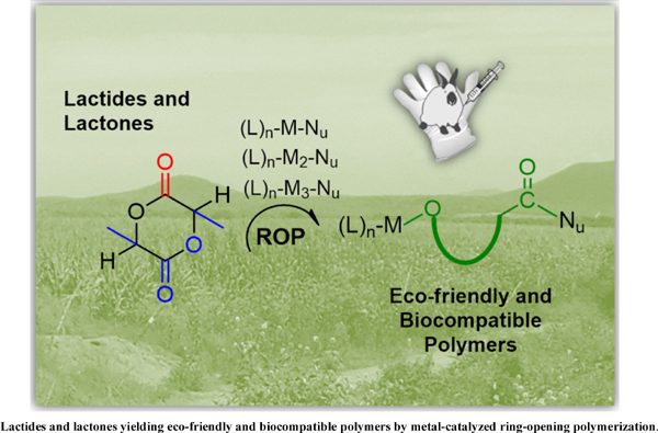 Lactides and Lactones Yielding Eco-Friendly and Biocompatible Polymers by Metal-Catalyzed Ring-Opening Polymerization