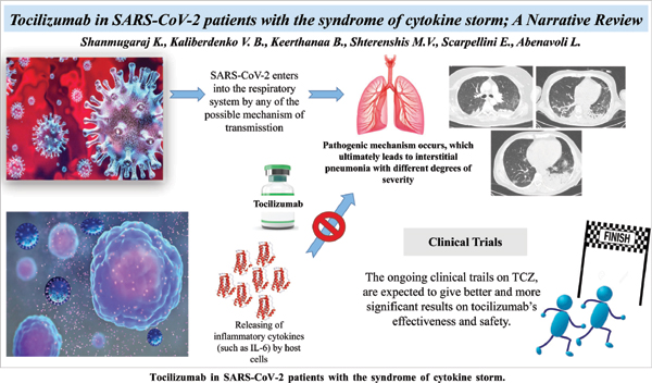 Tocilizumab in SARS-CoV-2 Patients with the Syndrome of Cytokine Storm: A Narrative Review